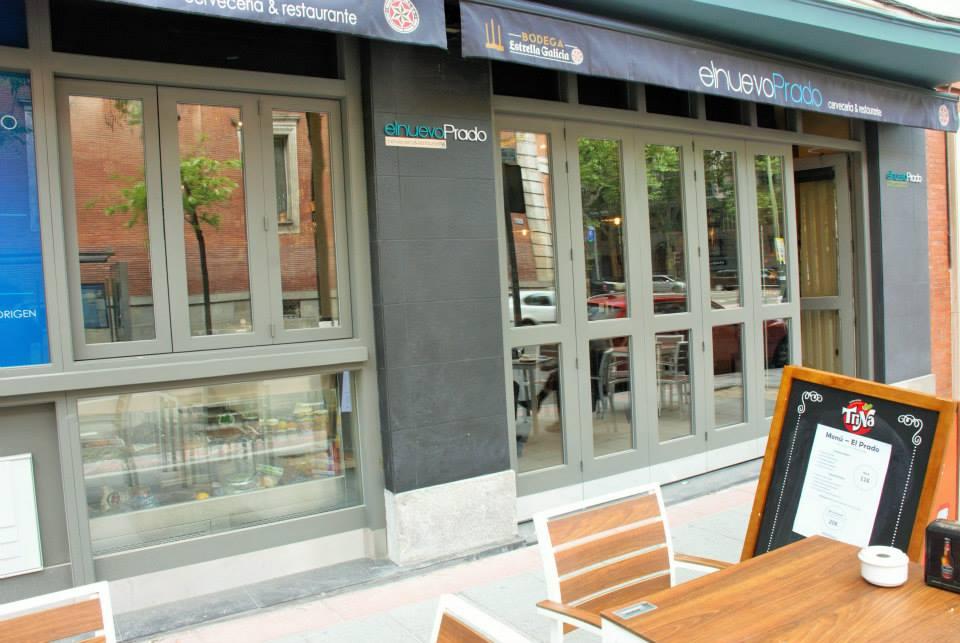 Nuevo prado restaurante bar en la calle ferraz de madrid for Hoteles en la calle prado de madrid